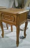 реставрация тумбочки и столика | аккуратная работа мастера