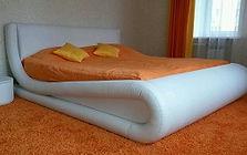 Изготовление кровати и обивка экокожей | Тюмень