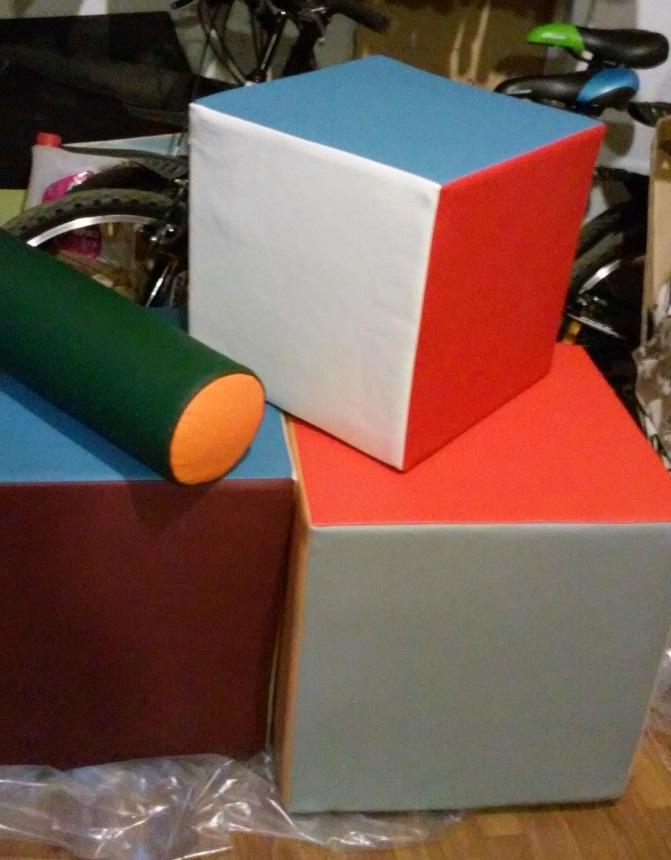 Пошив кубиков для интерьера