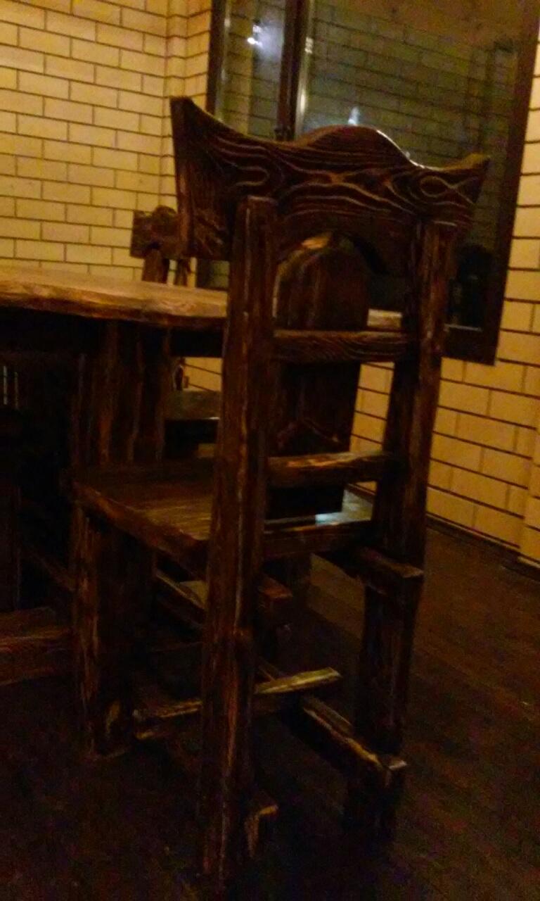 Изготовление стула из массива дерева