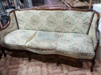 Переяжка старого дивана до перетяжки | Тюмень