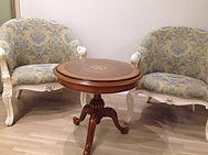 Реставрация круглого стола за 2 недели | Рококо студия мебели