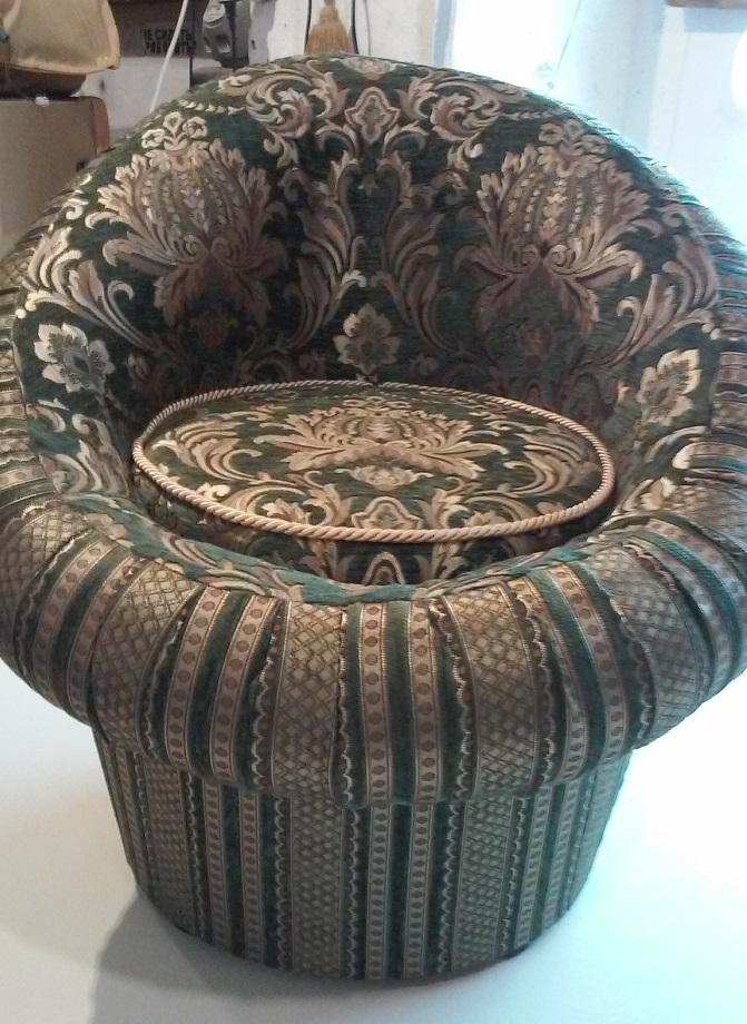 Изготволение круглого кресла