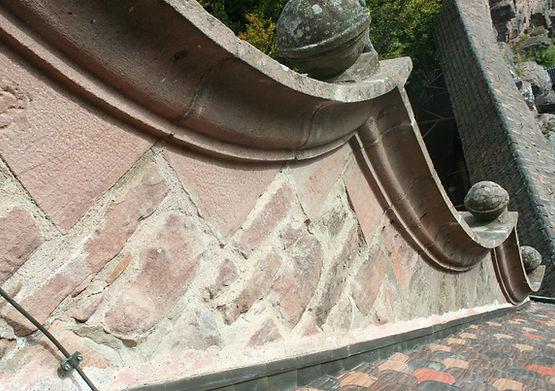 Chateau haut koenisbourg-cordiste-Tailleur de pierre-accord de pierre