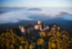 Accord de pierre-Chateau haut koenigsbourg-travaux sur corde-cordiste-MH-