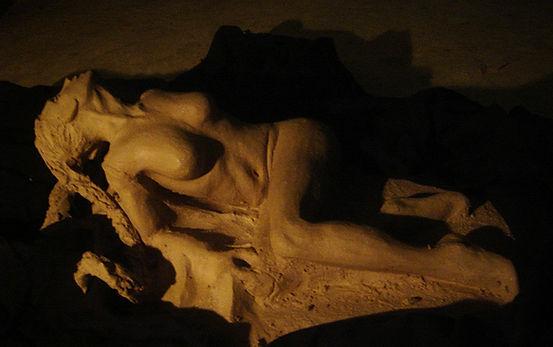 Alex Philippet philal sculpture femme en terre