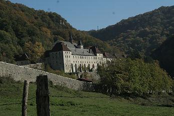 Accord de pierre-Monastère de Sélignac-Cordiste-Tailleur de pierre-Technique de corde