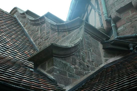 Chateau haut koenisbourg-cordiste-MH-accord de pierre- tailleur de pierre-patrimoine classé