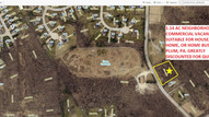 1.14 AC Vacant commercial/residential mixed use land Plum Boro, PA 18 miles from Pittsburg, DISCOUNT