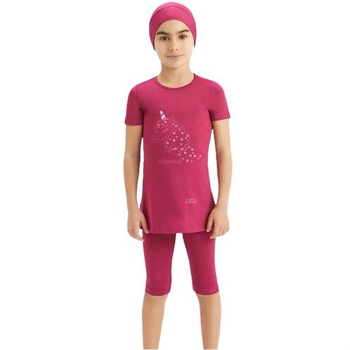 pink pige svømmesæt