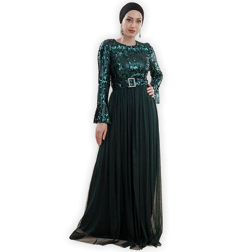 Sequined Green