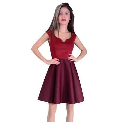 Gossip rød kort kjole