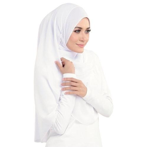 Chiffon - pure white