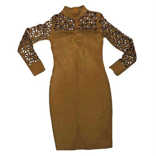 Ruskind look kort kjole