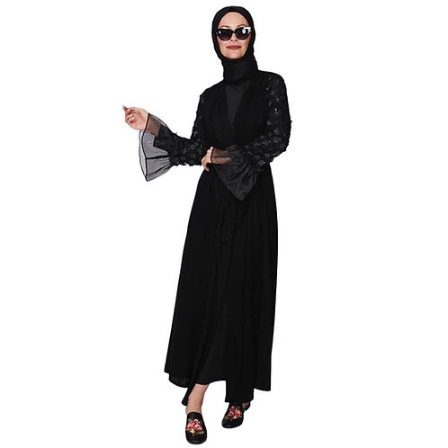Sort abaya