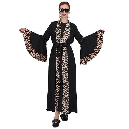 Leopard abaya