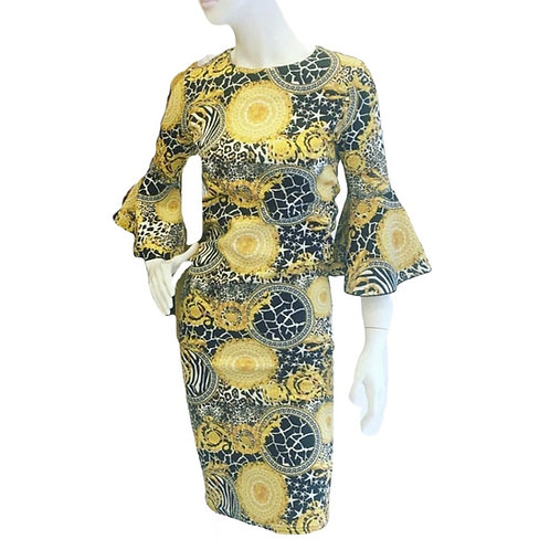Climax knælang kjole