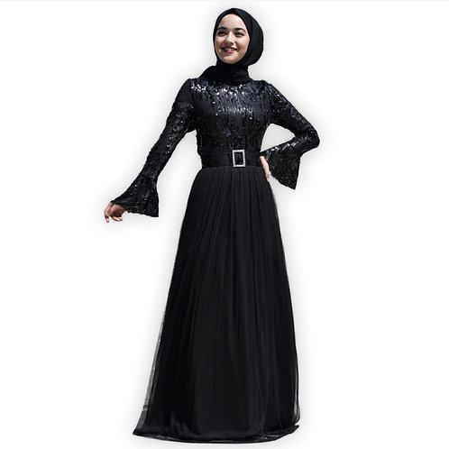 sequined Black