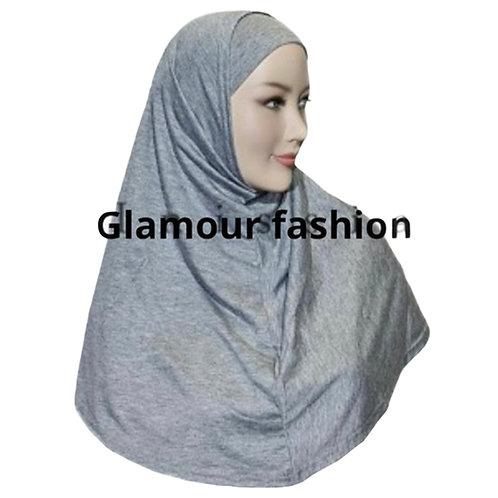 2 dele cotton hijab