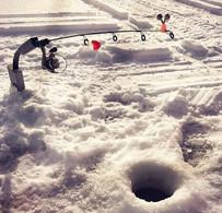 Ice Fishing Hole - B. McBride