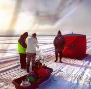 Ice Fishing - B. McBride
