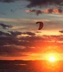 Sunset Kiteboarding - B. McBride