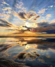 April Tide out sunset - B. McBride
