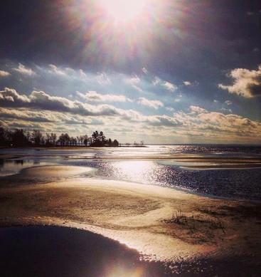 November Tide out - B. McBride