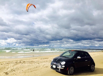 Driving on the Beach - N. Spina