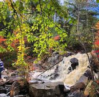 Hike at Duchesnay Falls - B. McBride