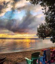 Summer (after a storm)- - B. McBride