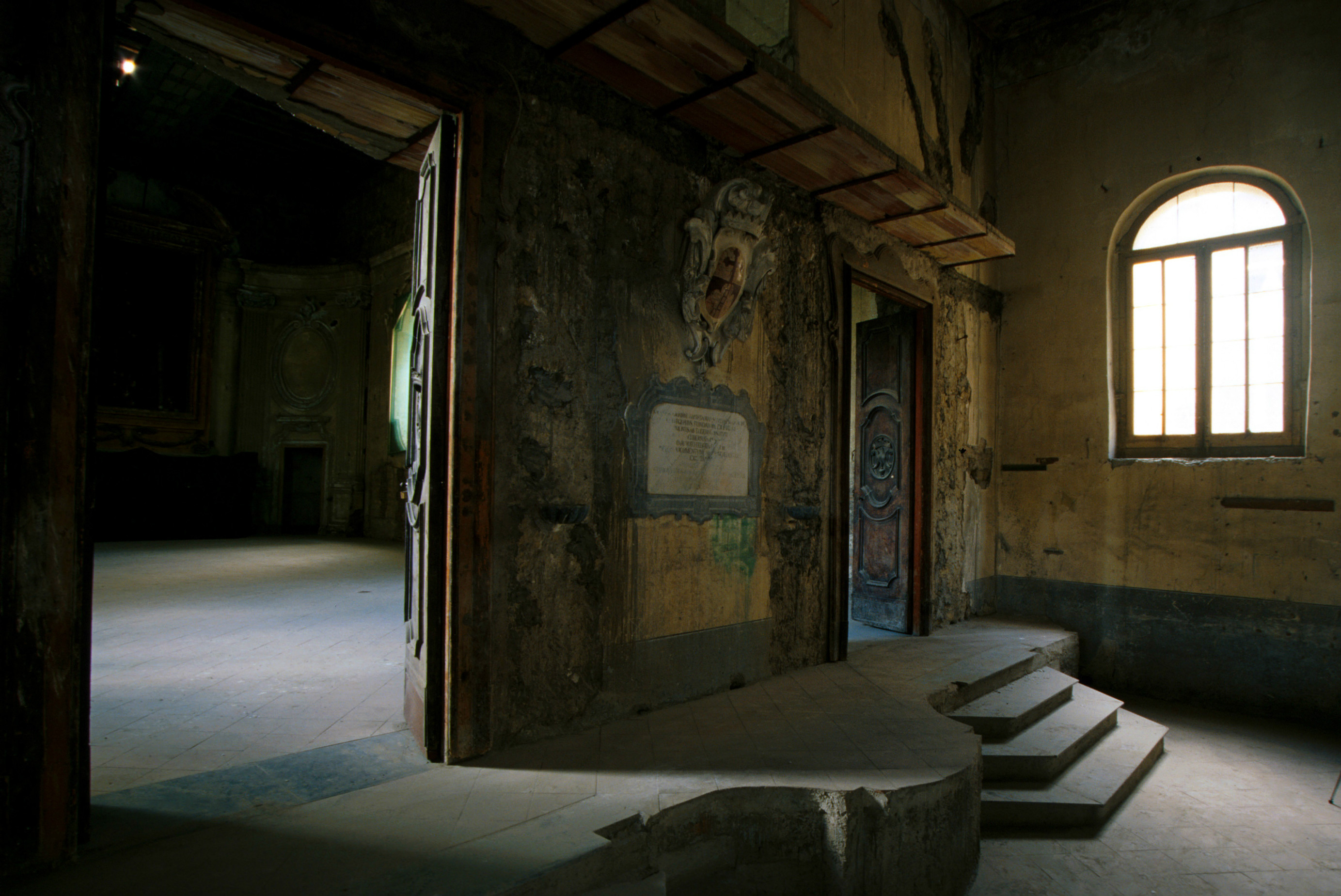L'ingresso della Cappella