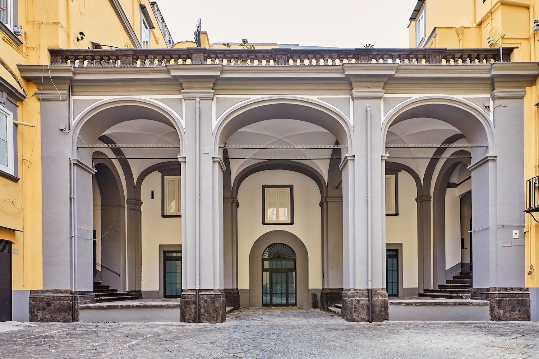 Palazzo Manso in San Marcellinio già dei di Capua