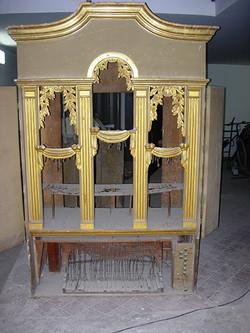 L'Organo prima del restauro