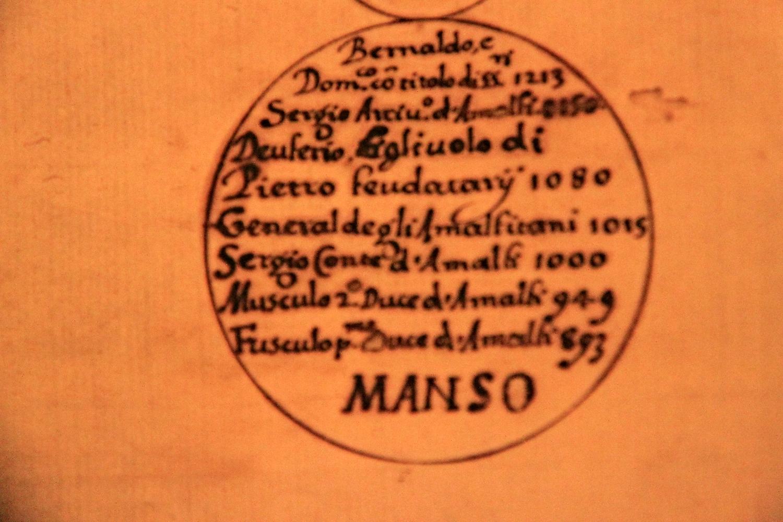 Genealogia dei Manso