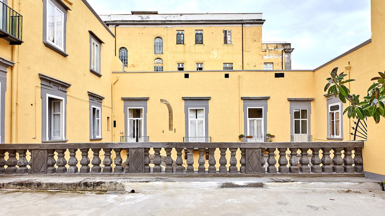 Vista dal terrazzo dopo il restauro