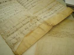 Pergamena prima restauro