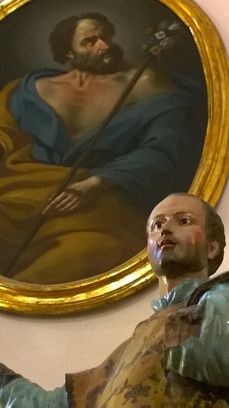 Statua lignea San Ignazio da Loyola