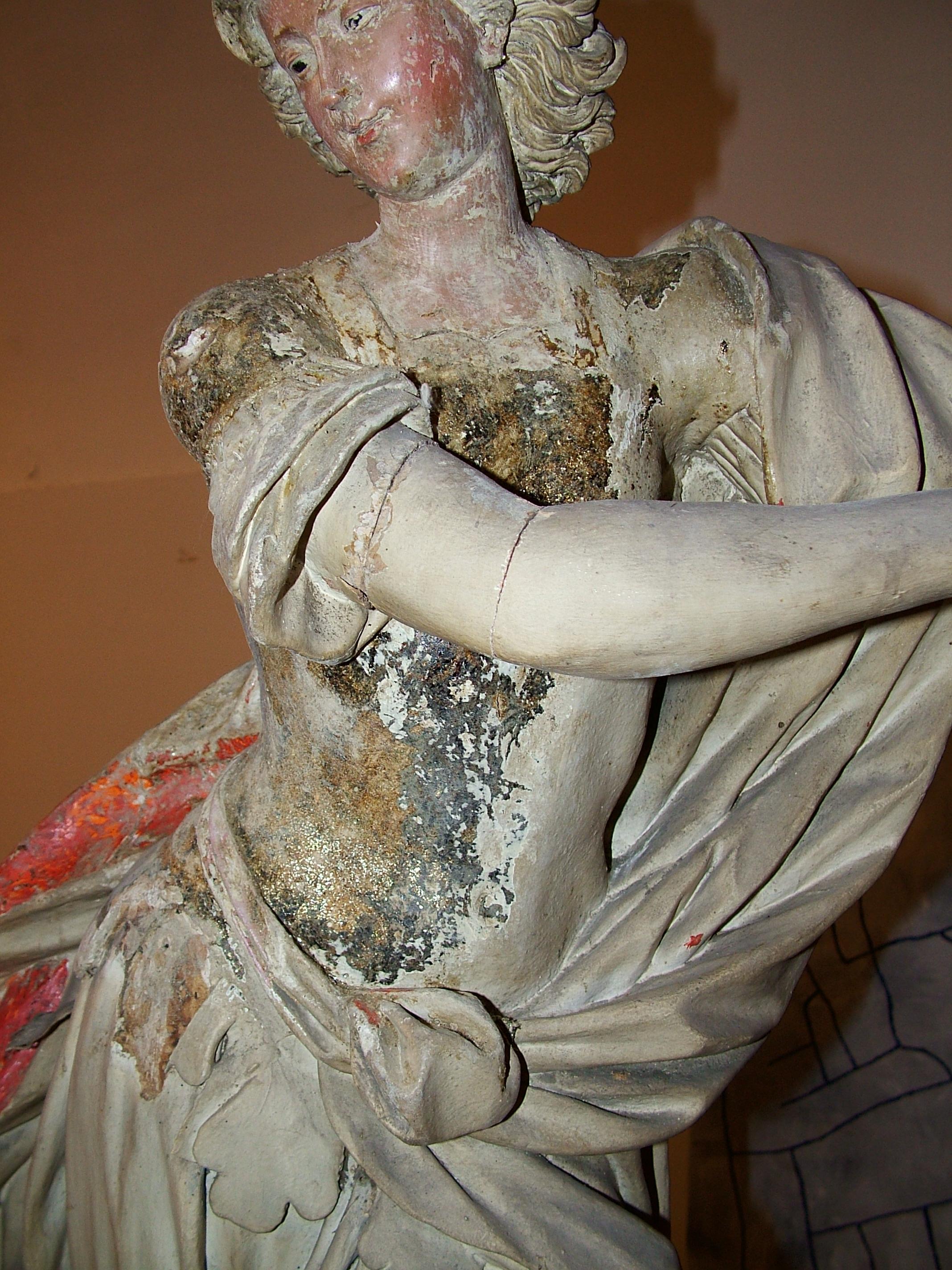 Restauro delle Statue