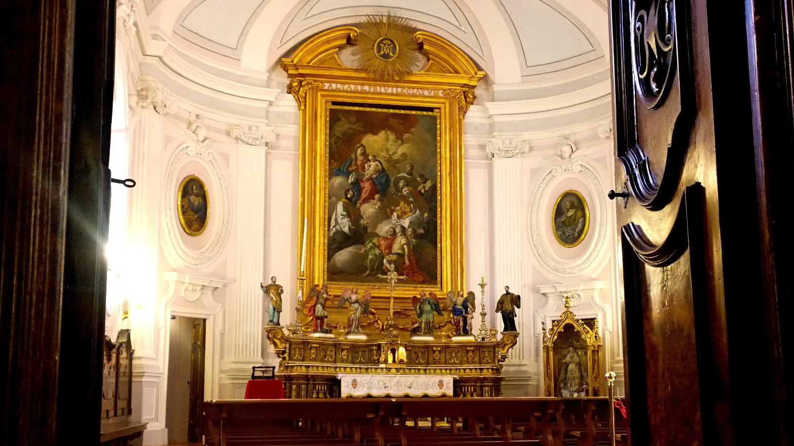 L'ingresso alla Cappella