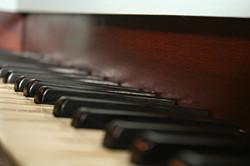 Tastiera dopo il restauro
