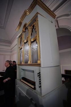 L'Organo all'inaugurazione 2009