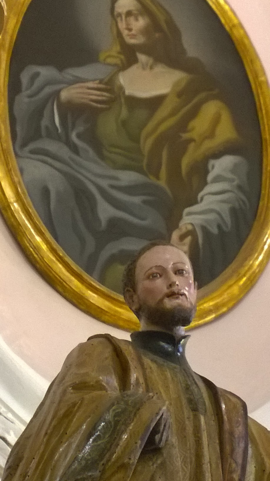 Statua lignea San Francesco Saverio