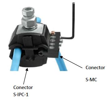 Conector tipo IPC (Insulation Piercing Connector)