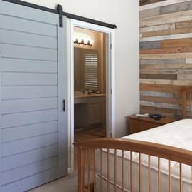 painted classic barn door