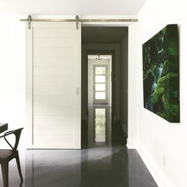 clean classic barn door