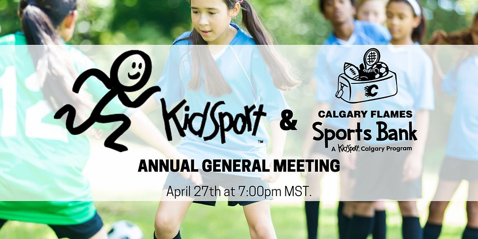 Calgary Flames Sports Bank & KidSport Calgary AGM