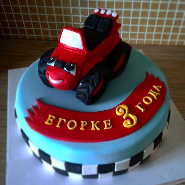 Торт детский 21