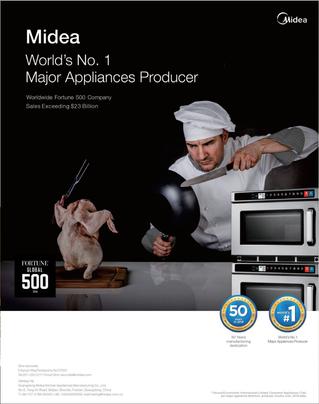 Midea World's No.1 Major Appliance Producer