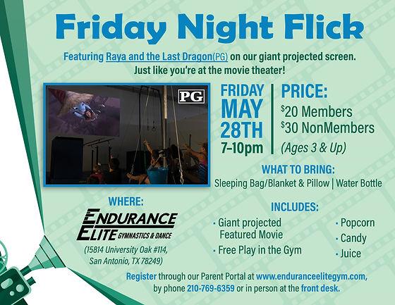 Friday Night Flick-Raya and the last dra